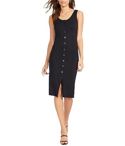 BB Dakota x Steve Madden Vision Of Love Dress Rib Knit Button Front Dress