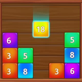 Number Merge - Drag n Merge Woody Numbers Puzzle Games Free For Kindle Fire