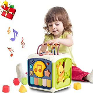 Baby Activity Cube with Bead Maze Baby Toys 12 to 18...