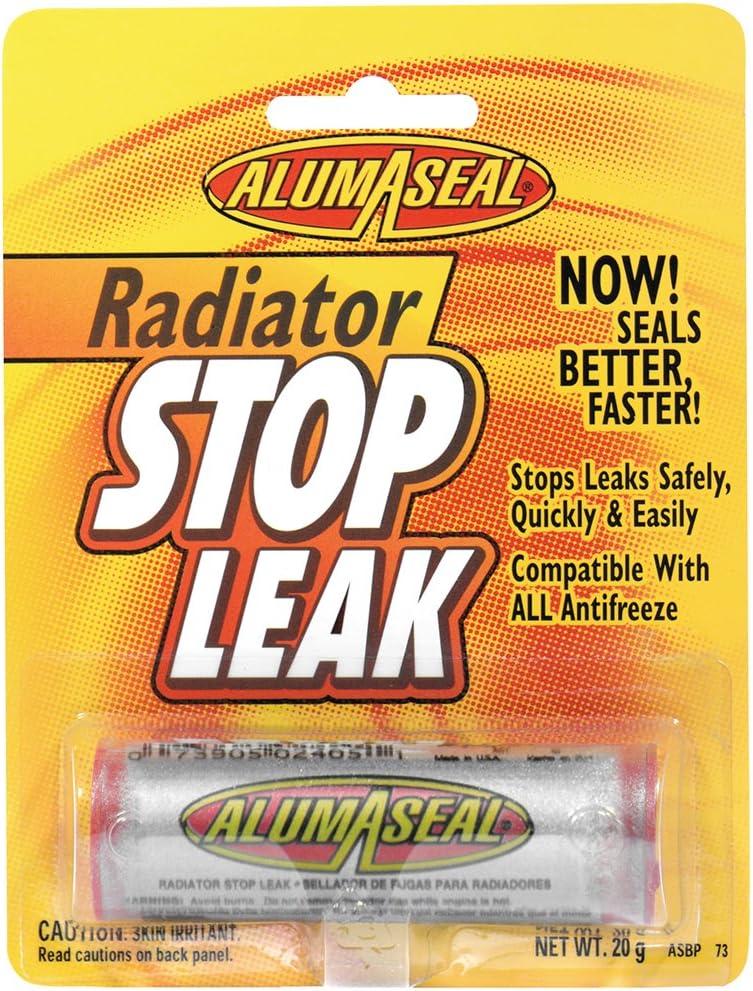 AlumAseal ASBPI12 Radiator service Stop Leak Powder 20 Blister Card g Max 79% OFF -