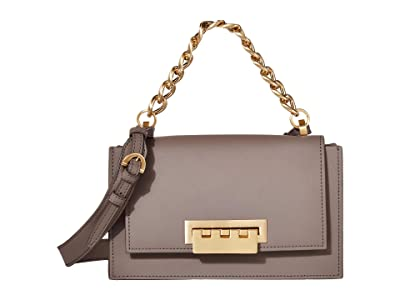 ZAC Zac Posen Earthette Chain Top-Handle Shoulder Solid (Falcon) Handbags