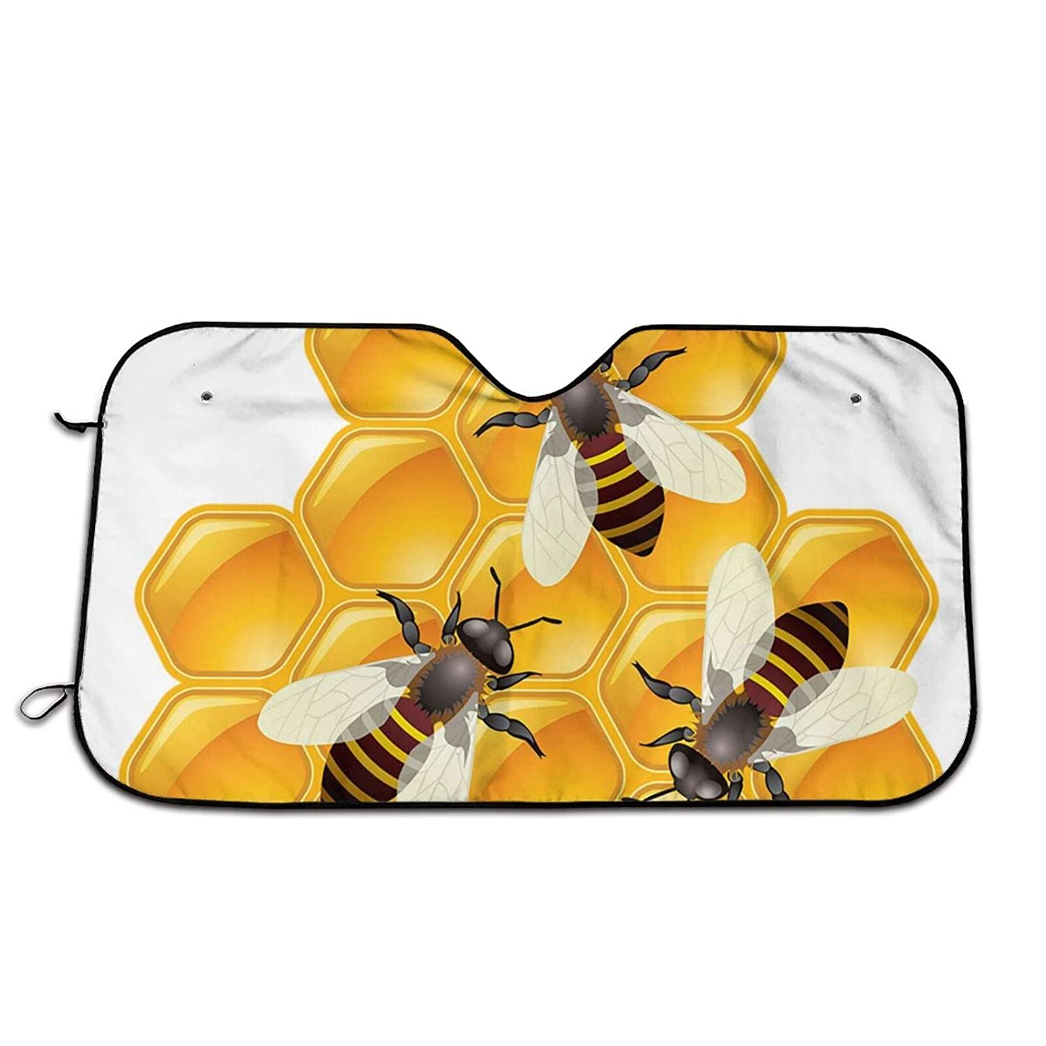 trust Durable Bees and Max 63% OFF Hives Car Sunshade-Kee Sun Windshield Shade