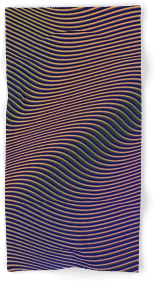 Society6 Fancy Curves Ii Inexpensive by Leandro Pita Hand and Towels Bath on Virginia Beach Mall