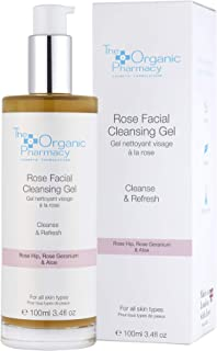 The Organic Pharmacy Rose Facial Cleansing Gel by The Organic Pharmacy for Women - 3.4 oz Cleanser, 100 ml