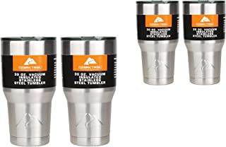 Ozark Double-Wall Insulated Stainless Steel tumblers - Set of 2, 30 oz (2-Pack (Set of 2))