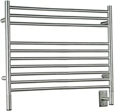 Jeeves Wall Mount Electric L Straight Towel Warmer Finish: Brushed