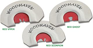 Woodhaven The Red Zone Combo Turkey Call Pack of 3