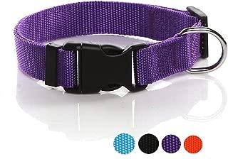 nylon adjustable dog collars