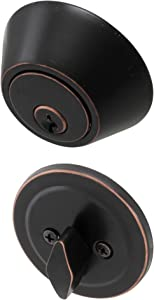 Honeywell Safes & Door Locks 8111409 Honeywell Deadbolt, Oil Rubbed Bronze