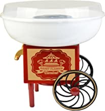 Gadgy ® Machine à Barbe à Papa Chariot   Appareil Cotton Candy   Utiliser Sucre Ordinaire ou Bonbons   Fete Foraine Annive...