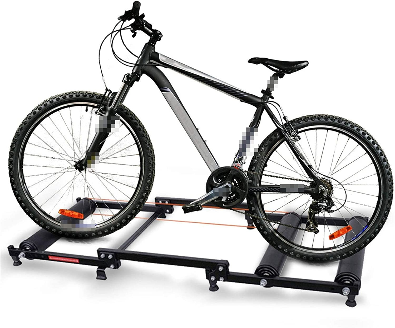 WERTYU Bike Roller Platform Trainer Indoor Exe Rollers Home Under blast sales Very popular