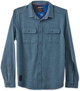 KAVU Men's Franklin Button Down Shirt