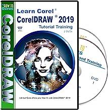 Corel CorelDRAW 2019 Tutorial Training on 2 DVDs 11 hours 178 videos