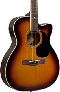 Mitchell O120CECB Acoustic Electric Guitar 3-Color Sunburst
