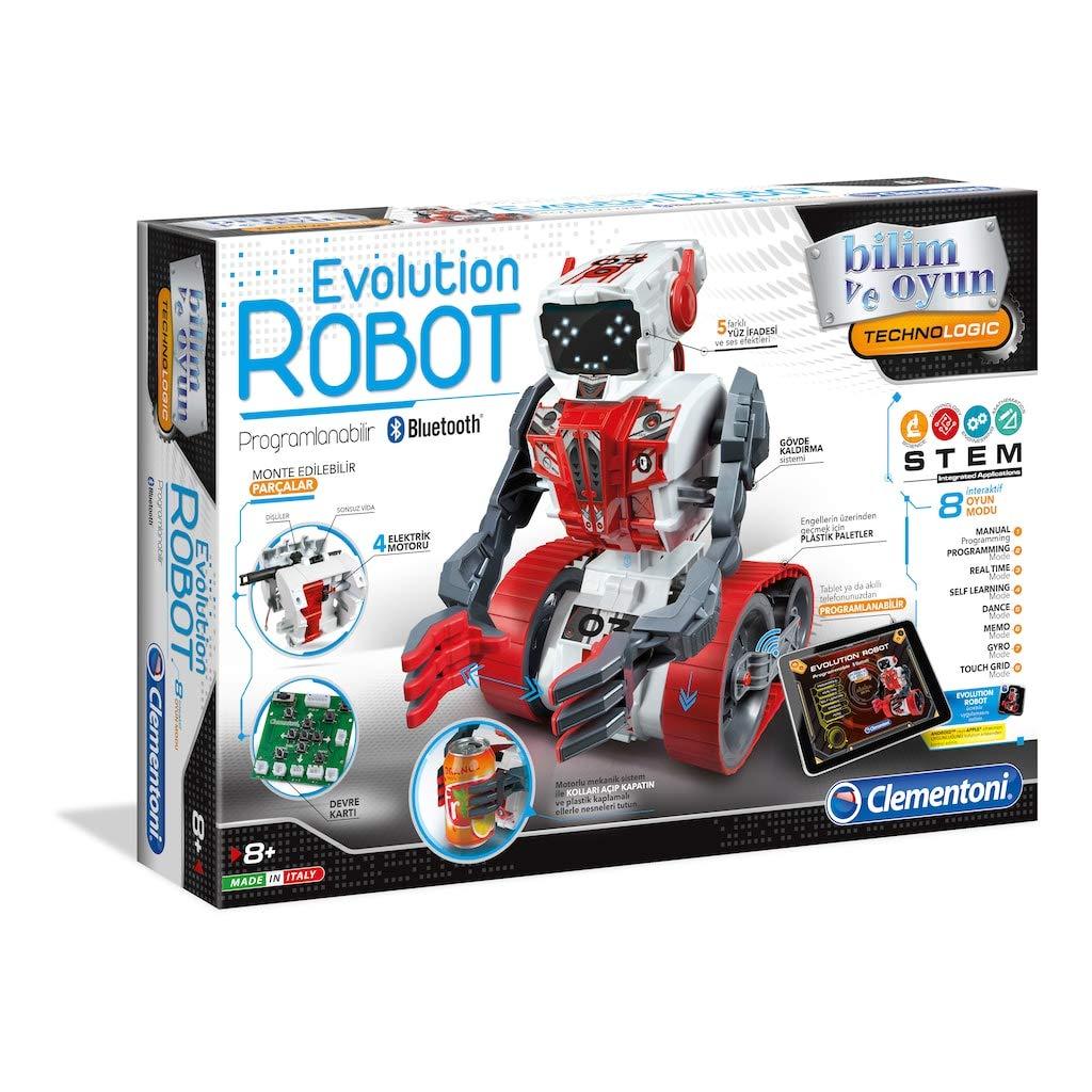 Clementoni 64549 Evolution Robot Baby Clementoni Amazon Com Tr