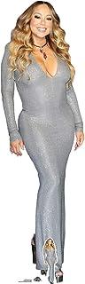 US-Way e.K. Figura de cartón de Mariah Carey, aprox. 176 cm, figura de pie para cine