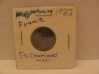 1922 50 centimes