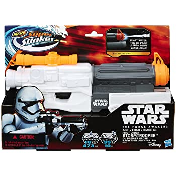 NERF Super Soaker Star Wars Episode VII First Order Stormtrooper Blaster ナーフスター・ウォーズエピソードVIIファーストオーダーストームトルーパーブラスター水鉄砲 [並行輸入品]