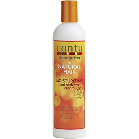 Cantu Shea Butter for Natural Hair Moisturizing Curl Activator Cream, 12 Fl Oz
