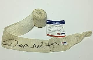 Oscar De La Hoya Signed Boxing Glove Wrist Wrap *Golden Boy S55284 - PSA/DNA Certified - Autographed Boxing Gloves