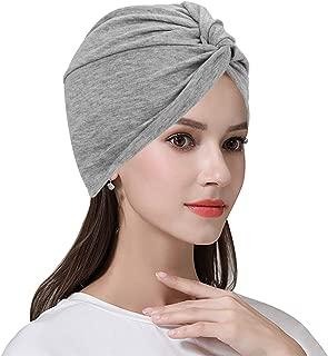 Cotton Chemo Cap for Women Cancer Turban Headwear Head Wrap Africa Muslim Hijab Skull Hat Hair Loss Patient Sleep Snood