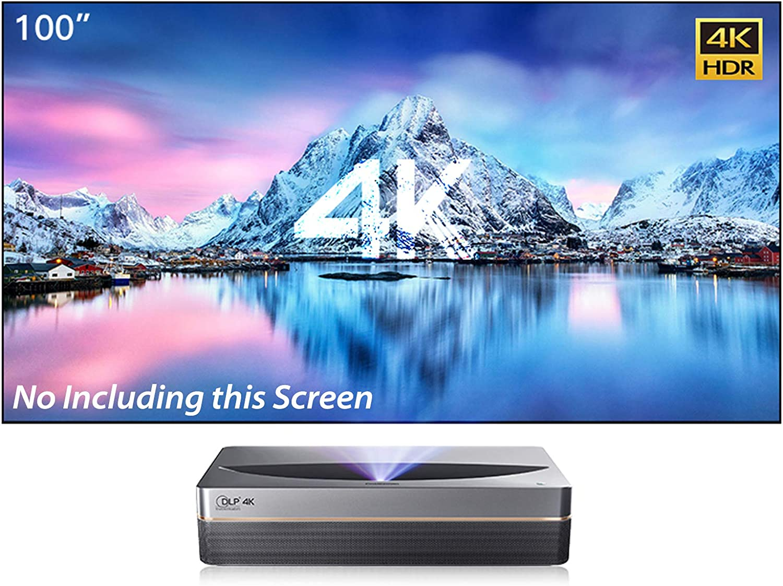 LiveTV.Direct 売り出し 新色追加 Updated ChangHong D5UR Projector Home 4K 激光è