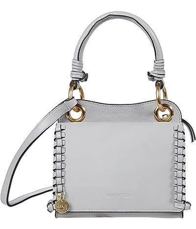 See by Chloe Tilda Mini Crossbody Cross Suede (Artic Ice) Cross Body Handbags