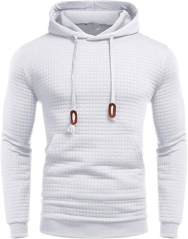 Aayomet Mens Shirts Fashion Long Sleeve Plaid Round Neck Soft Tee Sweatshirts Workout Sport Casual Hoodies