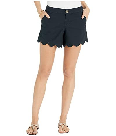 Lilly Pulitzer Buttercup Stretch Shorts (Onyx) Women