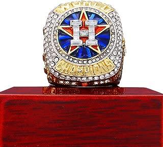 shanyang 47 MLB Astros World Series 2017 Championship Ring Verlander Box for Women Mens and Kids