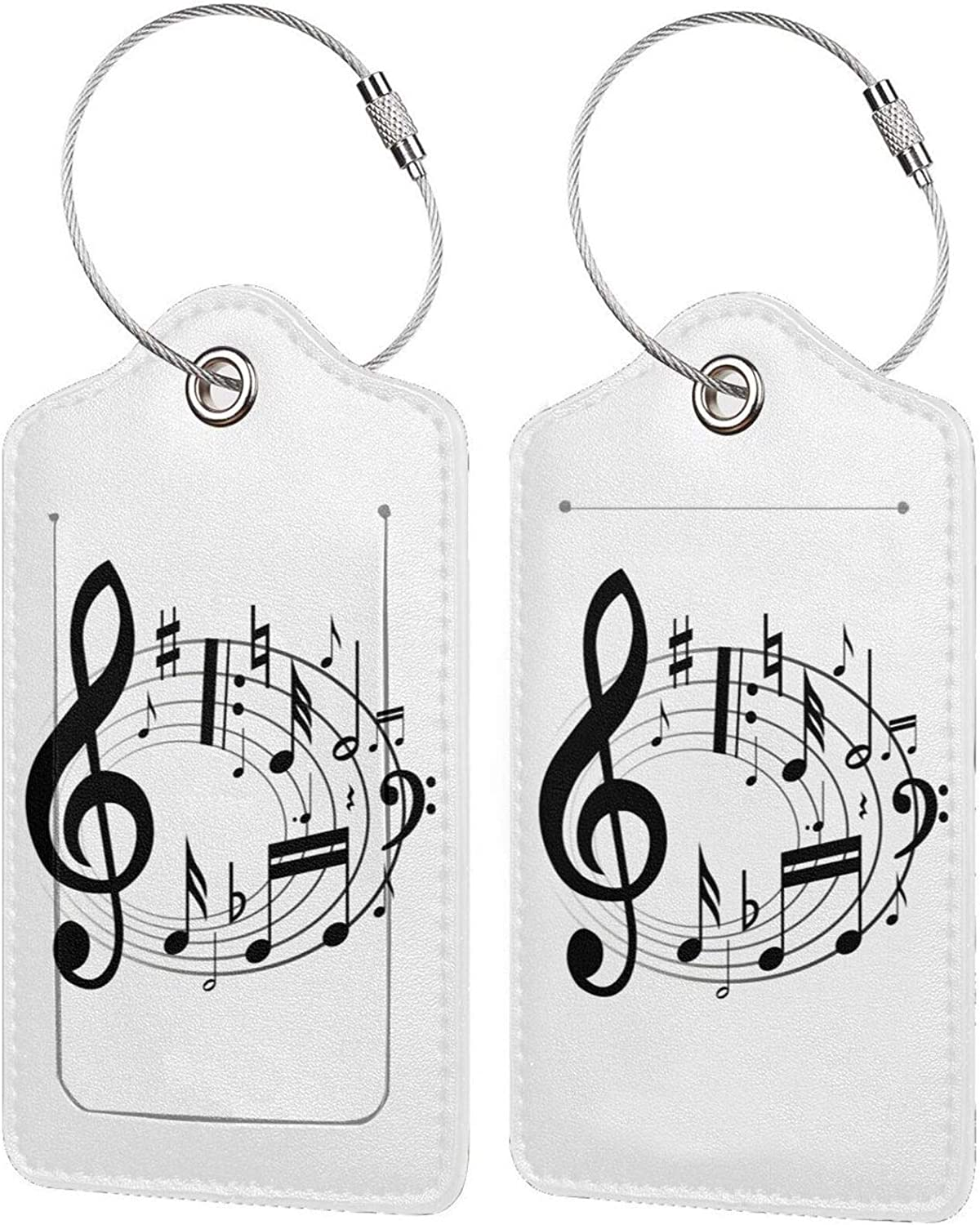 Music PU Leather Baggage Bag Ranking TOP18 with Luggage Popular popular Rectangle Tags Privacy
