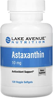 Lake Avenue Nutrition Astaxanthin, 10 mg, 120 Veggie Softgels