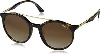 VOGUE Women's 0vo5246sf Round Sunglasses, Opal Pink, 54.0 mm