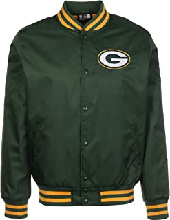 NFL Team Bomber Green Bay Packers Chaqueta Bomber