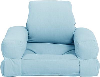 KARUP Baby Hippo Chaise, cottone/Polyester Bleu Ciel, 744, 70x 65x 40cm