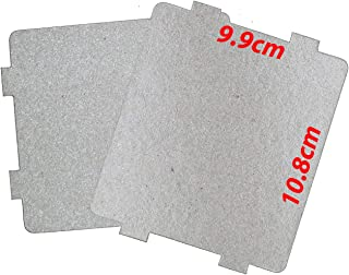 Rubik Large Microwave Waveguide Cover Plates MICA Sheet for Microwave Oven Filter, Pre-cut (10.8x9.9cm) Pack of 2pcs