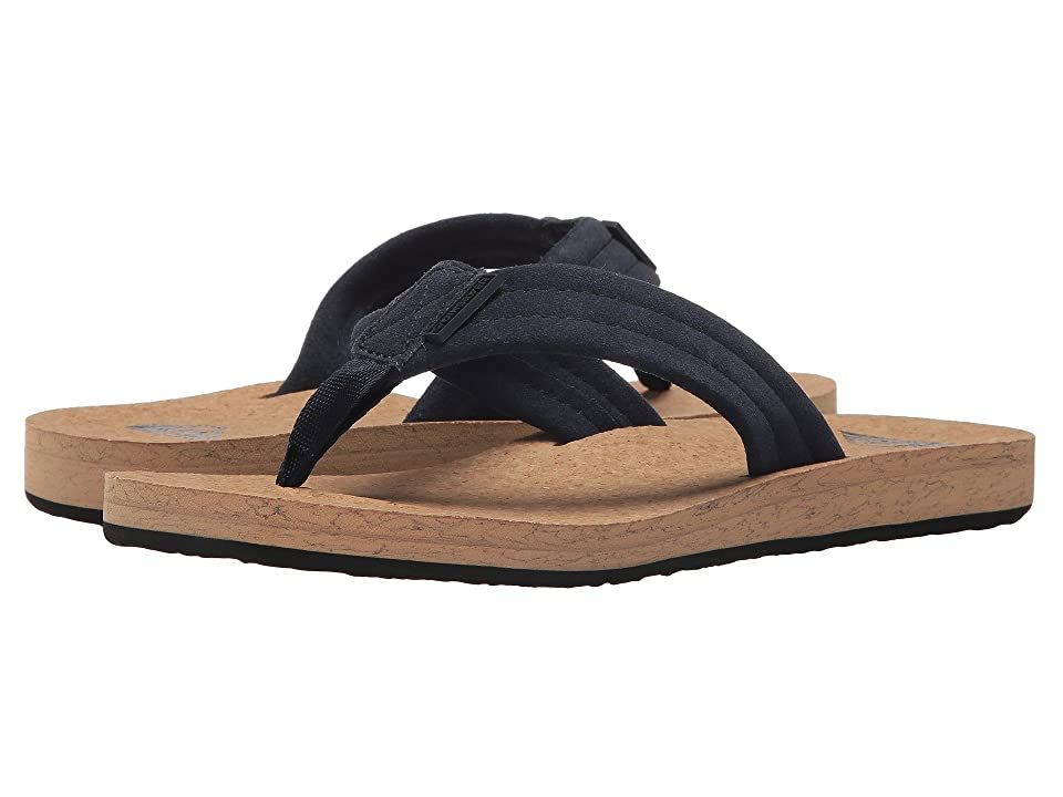 Quiksilver Carver Cork (Blue/Brown/Blue) Men's Sandals