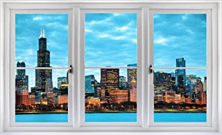 Best chicago skyline wall decal Reviews