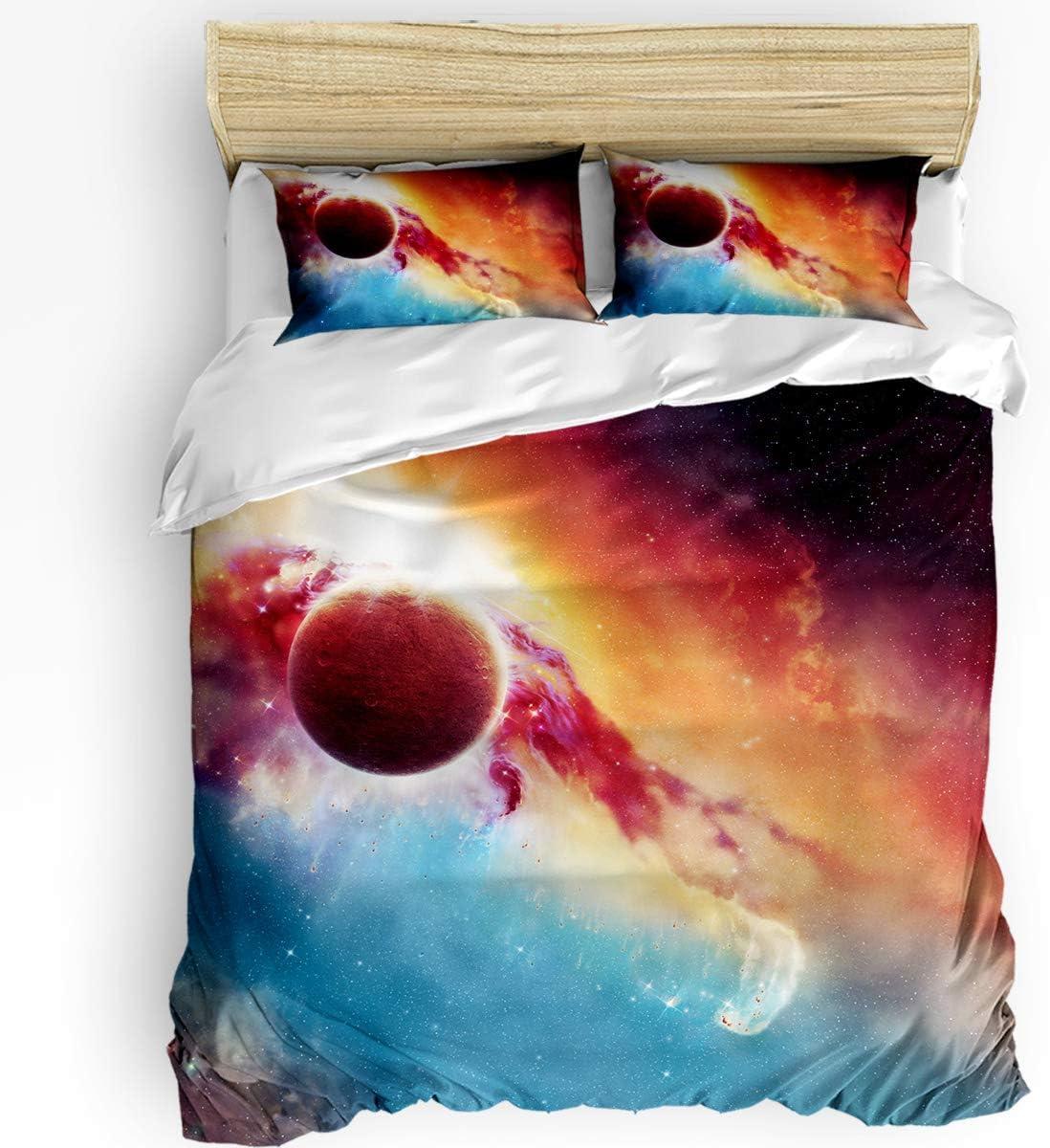 Duvet Cover Set Twin Size 3pcs Elegant So 2 1 Pillowcase Quilt + A surprise price is realized