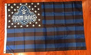 Milwaukee Admirals USA Stars & Stripes 3x5 Feet Flag Banner Hockey …