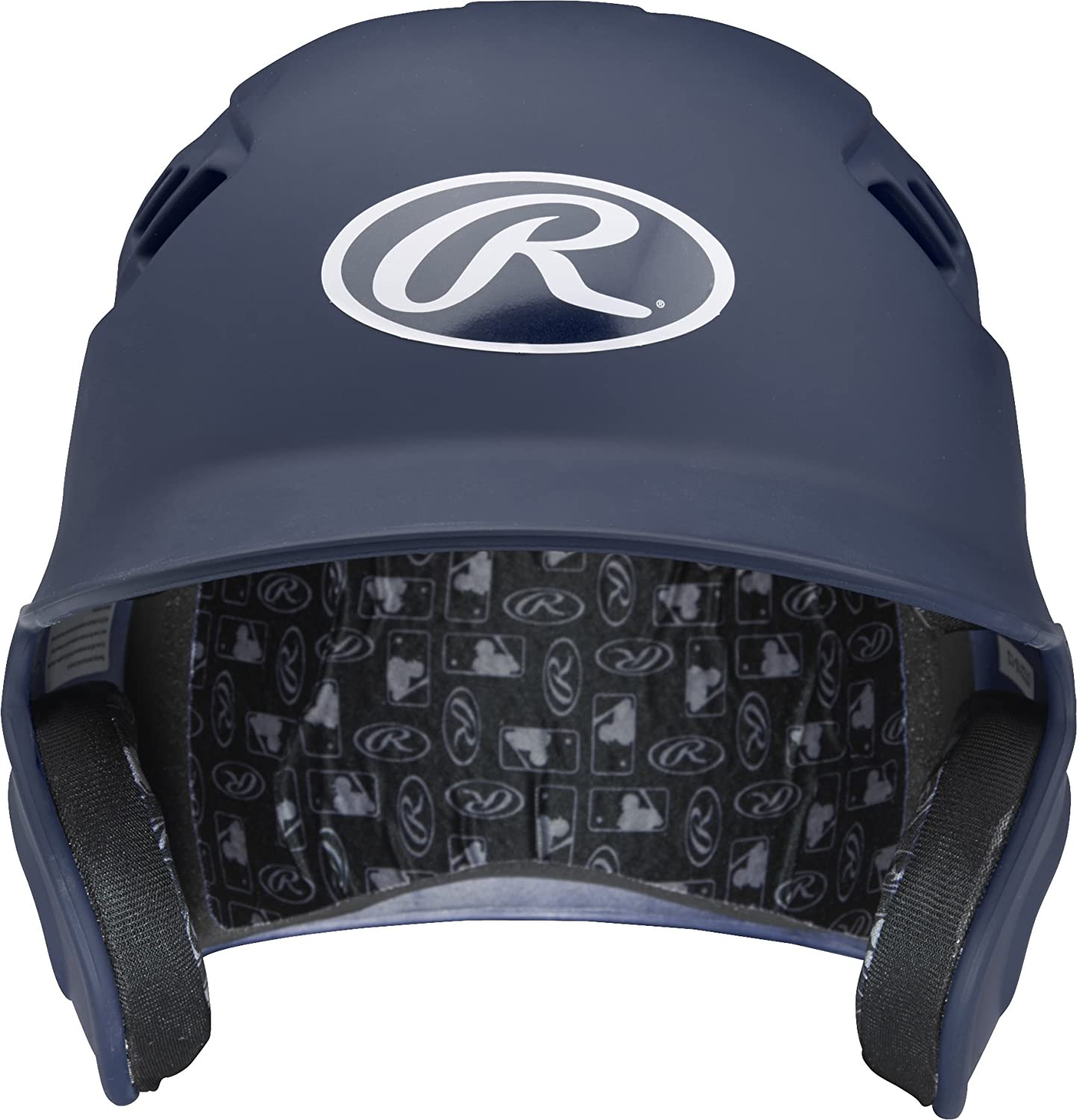 Rawlings Clear Coat Alpha Sized Batting Helmet, Maroon, Small