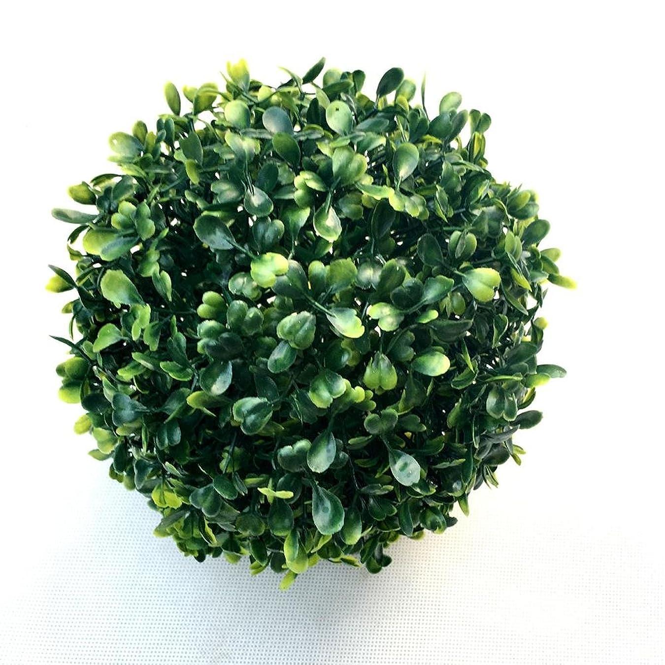煙突挨拶する四回Jicorzo - 1 PCのシミュレートプラスチックままボール人工芝ボールホームパーティー結婚式の装飾[15センチメートル]
