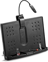 Superior Essentials Portable Book/Document Stand/Holder with Attachable and Removable Booklight