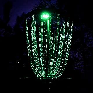 Lunar Module LED Disc Golf Basket Light
