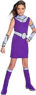 Rubie's Deluxe Teen Titan Go Movie Girls Star Fire Costume