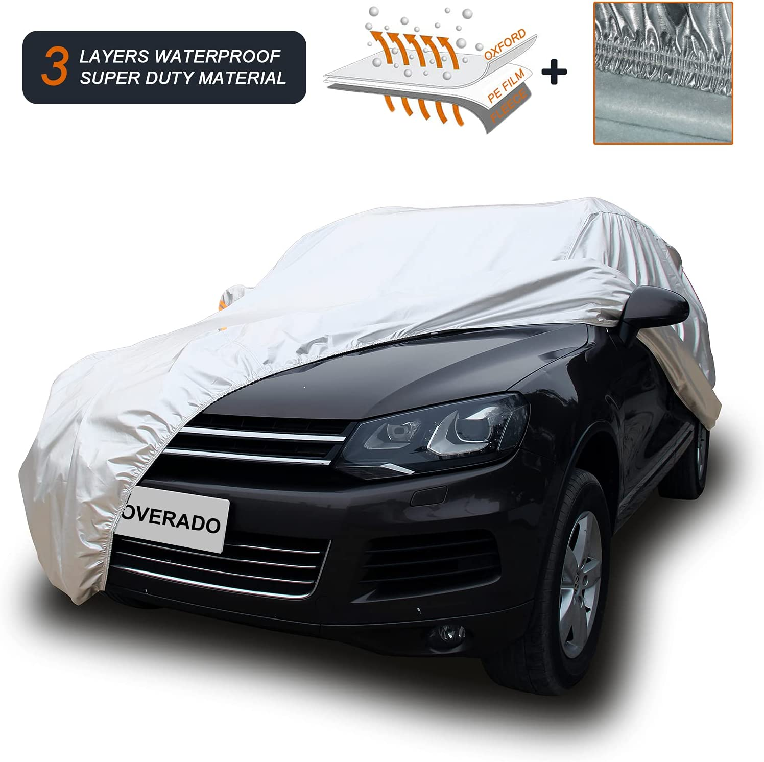 Coverado Super Duty Max New item 71% OFF Car Cover Waterproof All Windproof Snowproof
