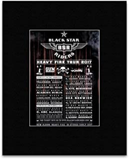 Stick It On Your Wall Black Star Riders - Heavy Fire Tour 2017 Mini Poster - 25.4x20.3cm