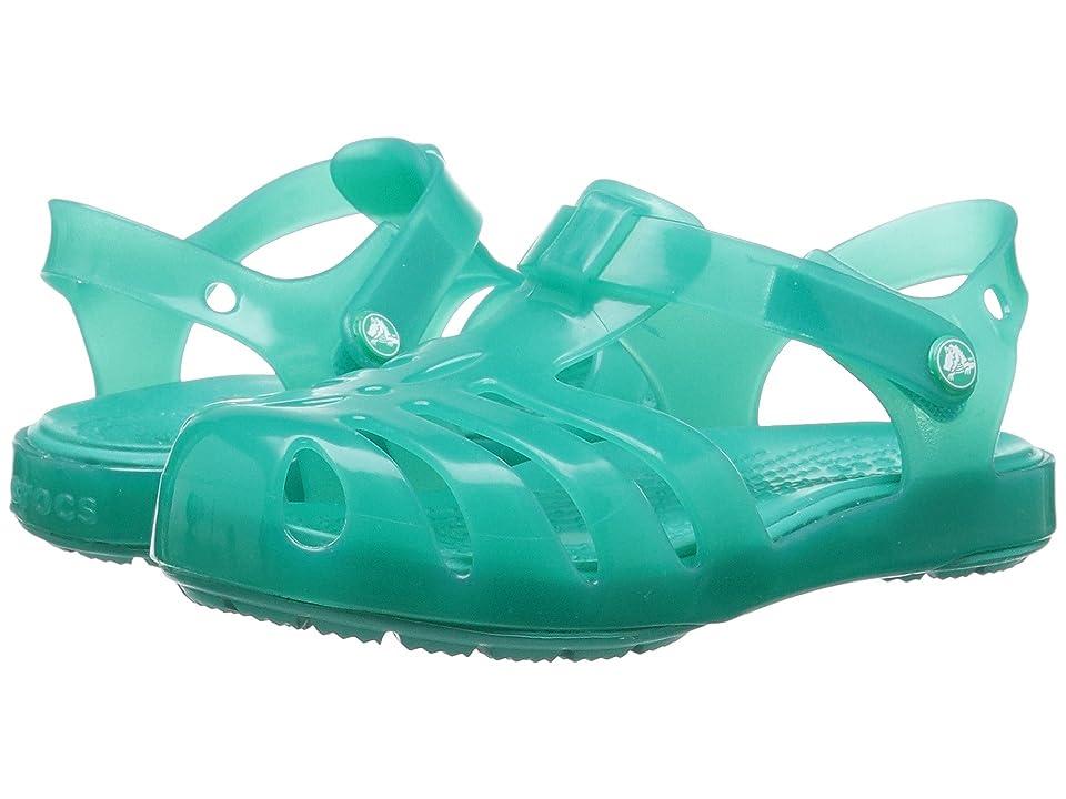 Crocs Kids Isabella Sandal PS (Toddler/Little Kid) (Tropical Teal) Girls Shoes