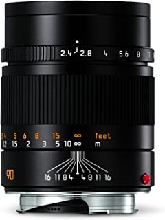 Leica 11684 Summarit-M 90mm/f2.4 Telephoto Lens, Black