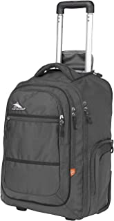 High Sierra Rev Wheeled Laptop Backpack, Great for High School, College Backpack, Rolling School Bag, Business Backpack, Travel Backpack, Carry-on Bag Perfect for Men and Women
